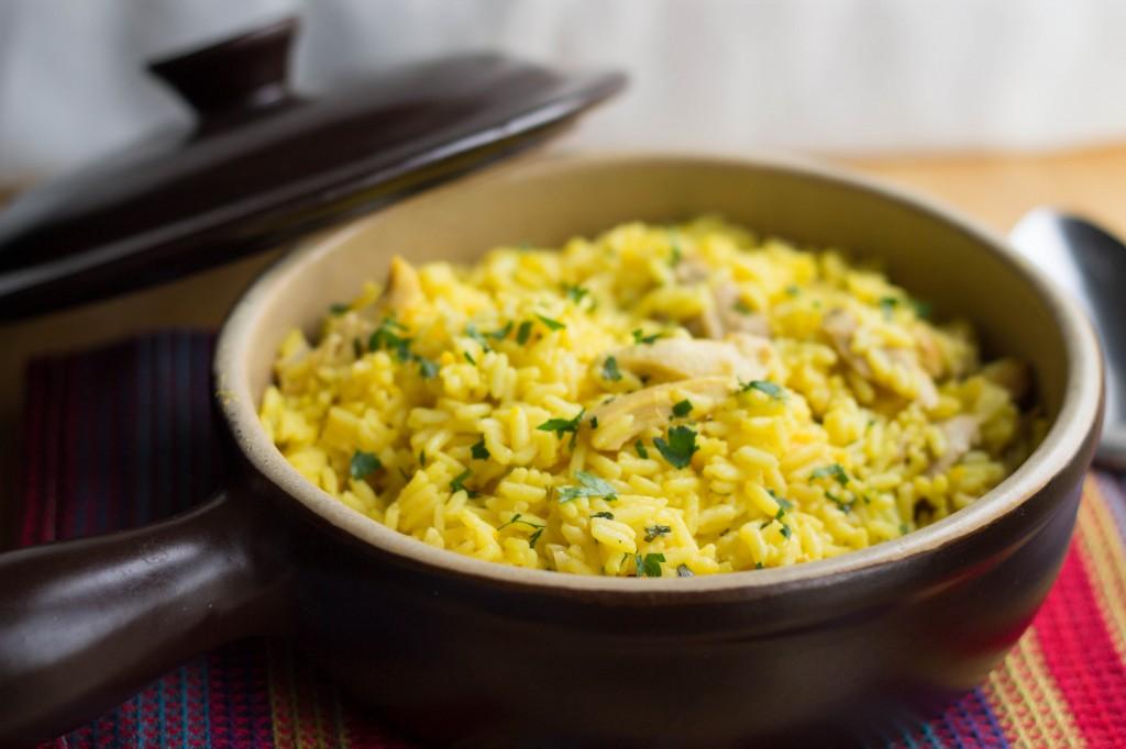Chicken And Saffron Rice Erren S Kitchen