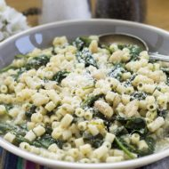 Quick & Easy Spinach, White Bean & Pasta Soup
