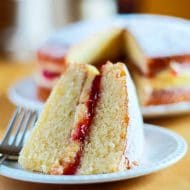 Victoria Sponge Cake with Buttercream