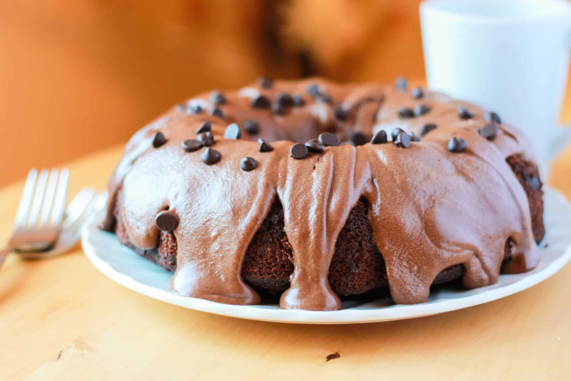 Chocolate Chip Cake with Chocolate Butter Cream Icing - Erren's ...