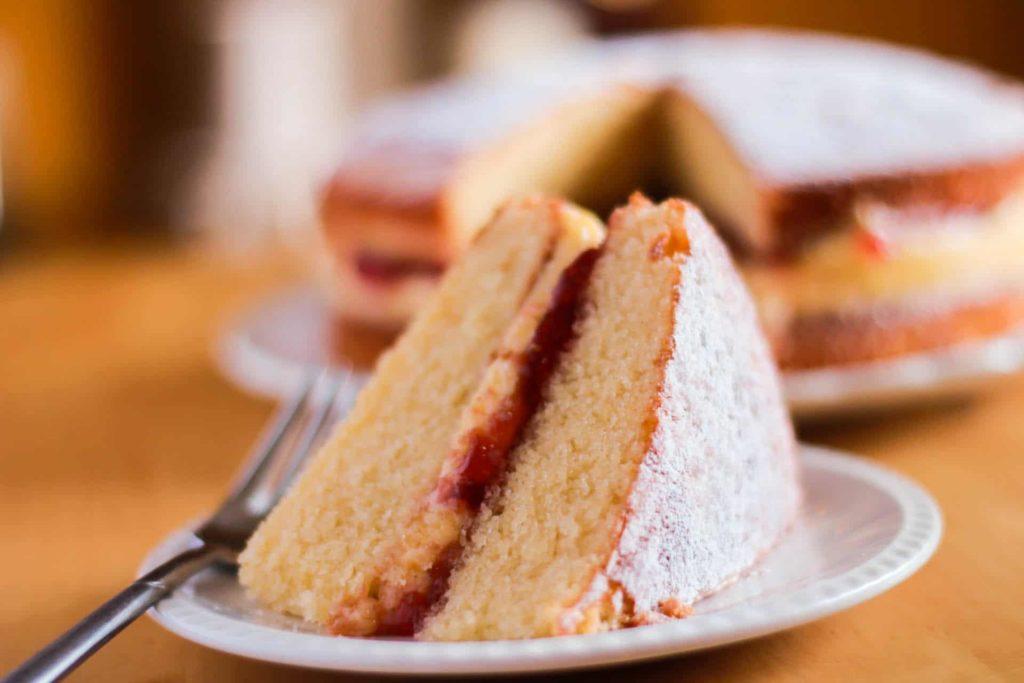 Cream Cake Recipe In English: Victoria Sponge Cake With Butter Cream