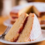 Victoria Sponge Cake with Butter Cream