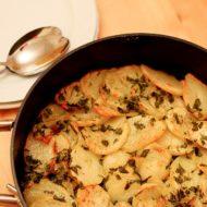Crispy Garlic Potato Roast