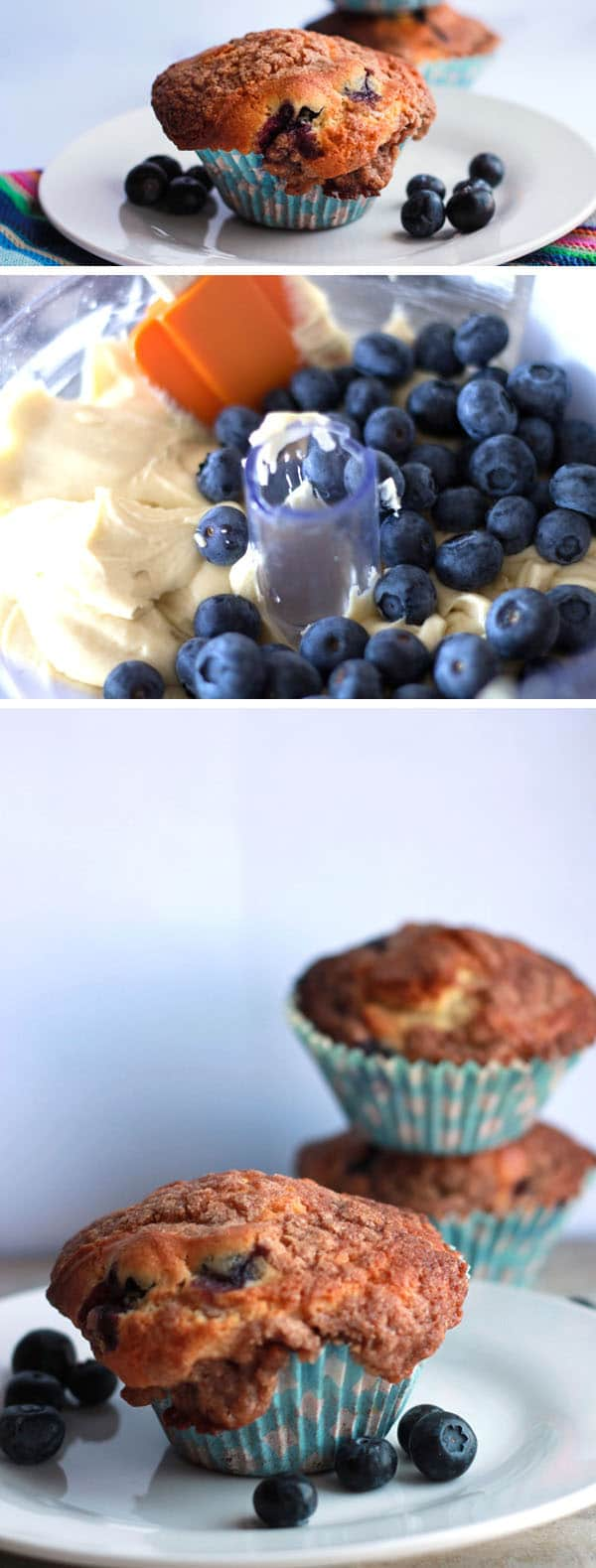 ... Crumb Cake Muffins combines two classics – Crumb Cake and blueberry