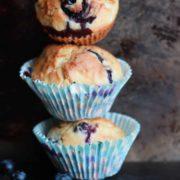Blueberry Scone Muffins - alt