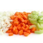Classic mix of chopped up carrots, celery and onion