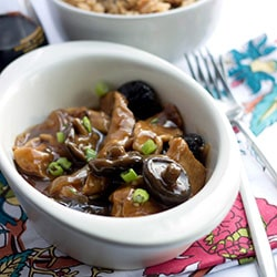 Chicken with Chinese Mushrooms