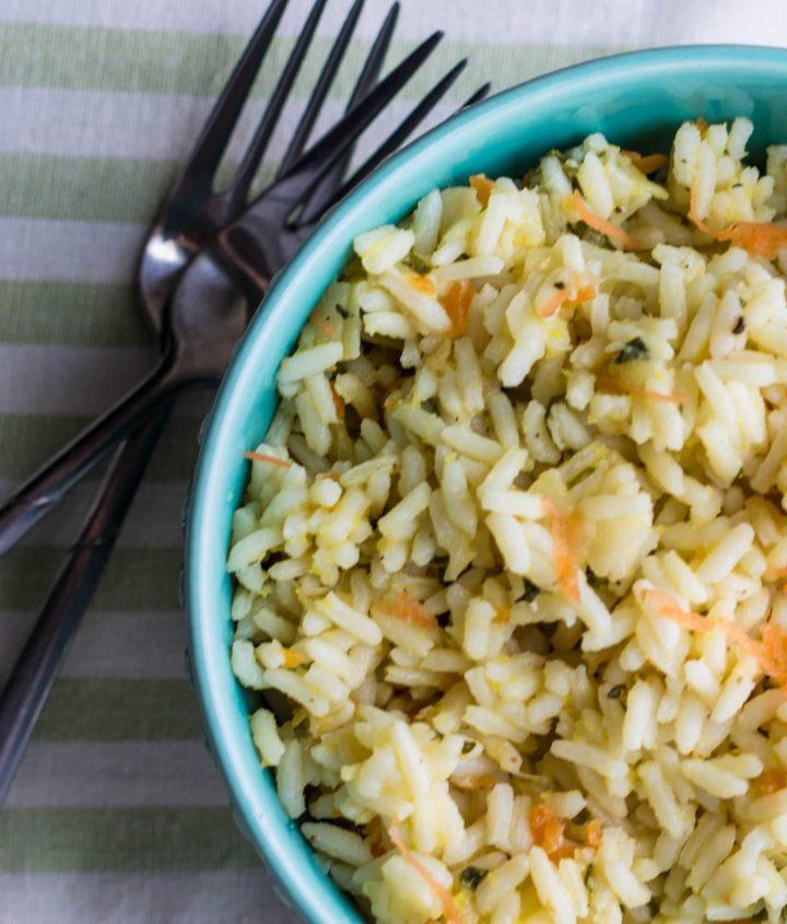 vegetarian rice pilaf