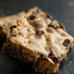 Classic Chocolate Chip Blondies - Erren's Kitchen
