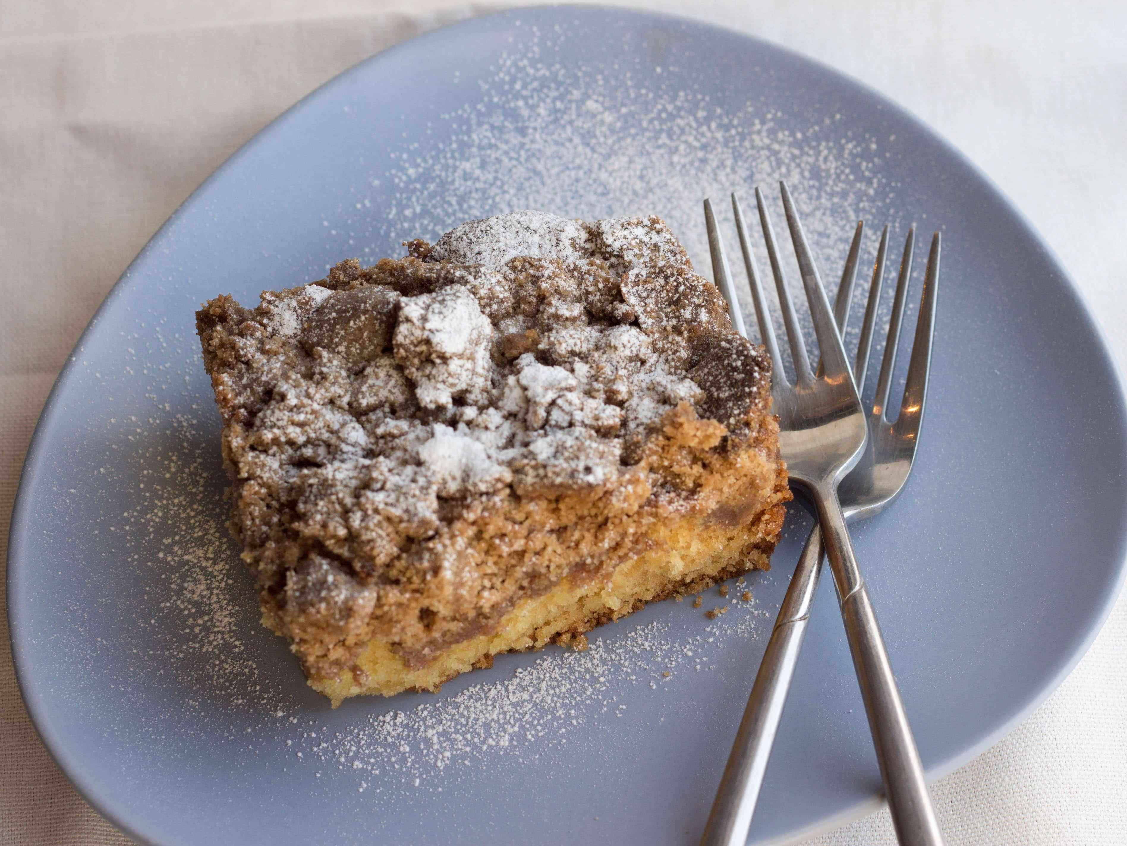 NJ Crumb Coffee Cake