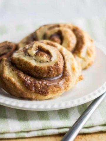 Cinnamon Swirl Scones