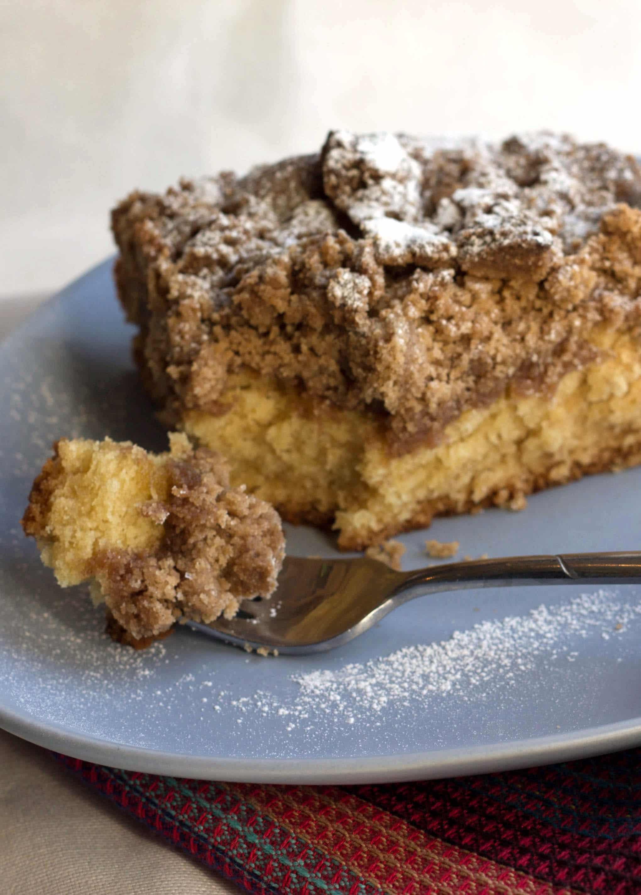 NJ Crumb Cake