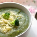 NO CREAM CREAMY BROCCOLI SOUP