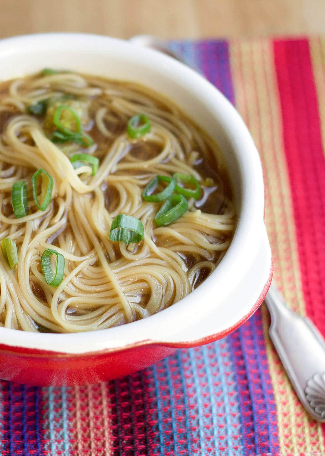 Quick easy chinese noodle soup errens kitchen this recipe for quick easy chinese noodle soup makes a super simple aromatic broth forumfinder Images