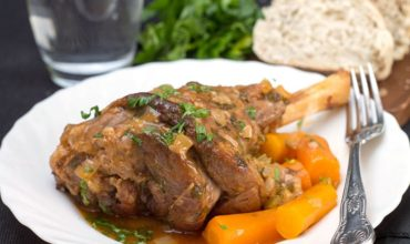 Slow Cooked Lamb Shanks feature