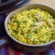 Easy One Pot Chicken and Saffron Rice