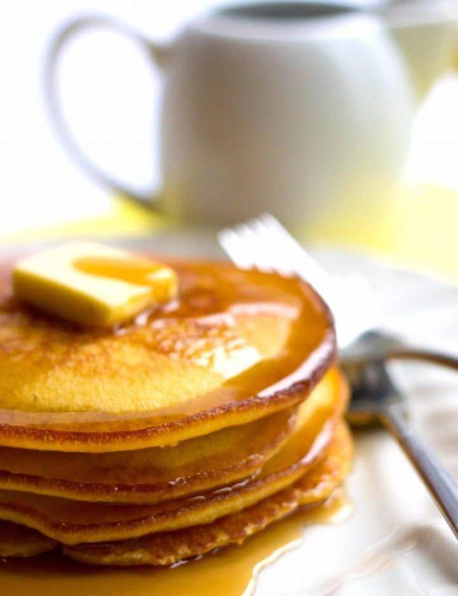 Cornbread pancakesCornbread pancakes