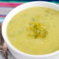 No Cream Creamy Celery Soup