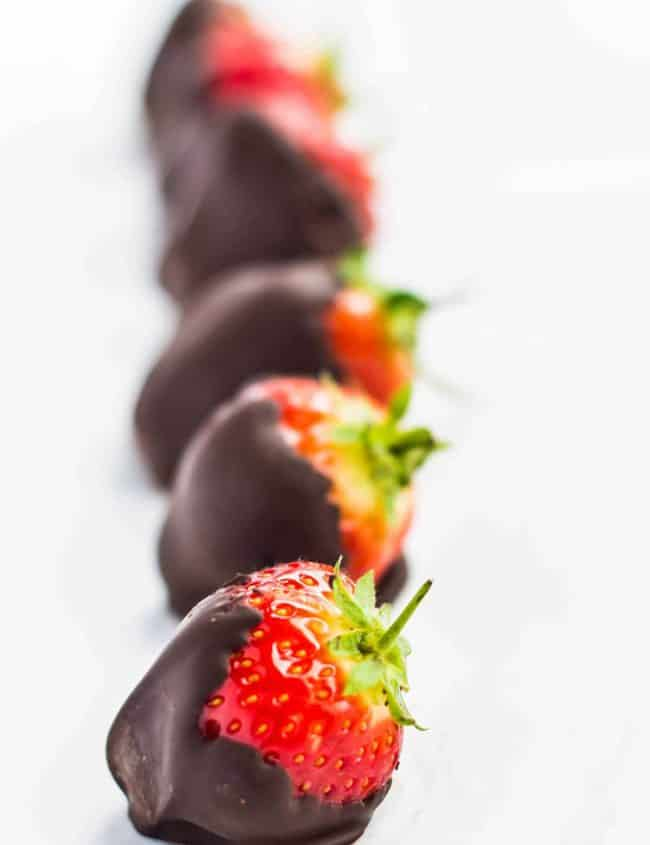Classic Chocolate Covered Strawberries