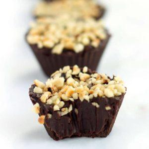 Chocolate Hazelnut Truffle Cups - Erren's Kitchen