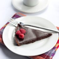 Dark Chocolate Silk Tart