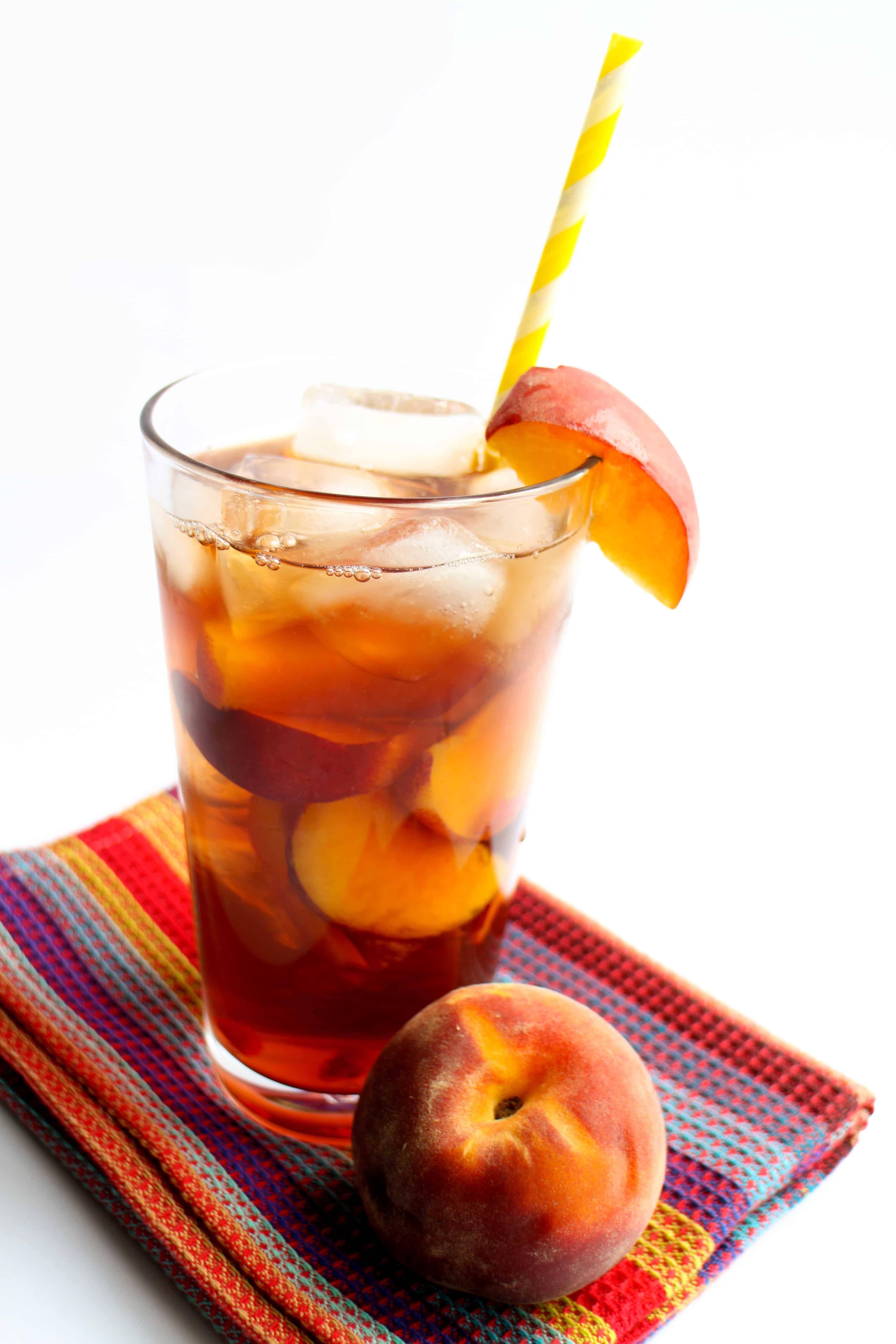 Sweet Peach Iced Tea