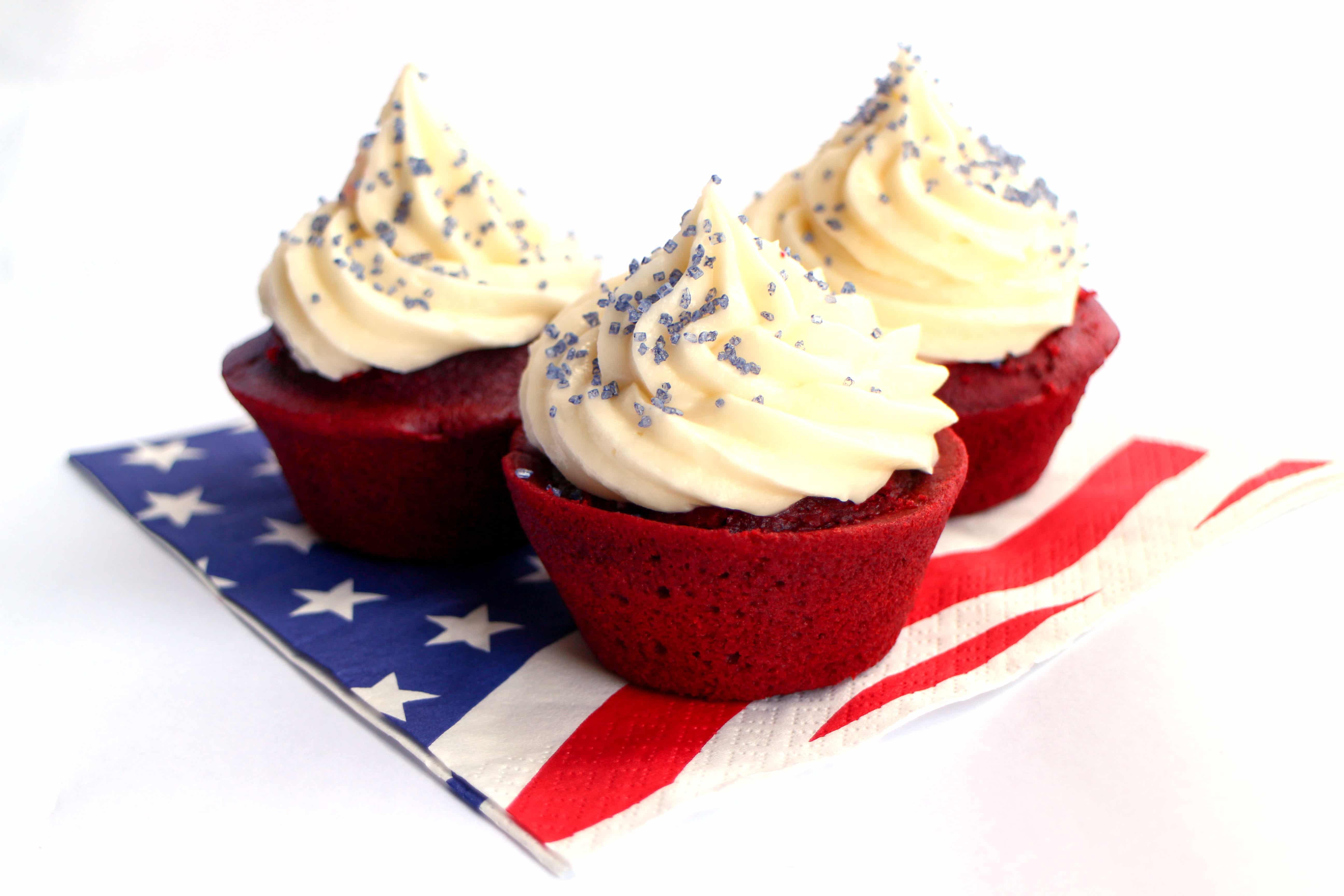 Red Velvet Cupcakes with Cream Cheese Icing - Erren's Kitchen