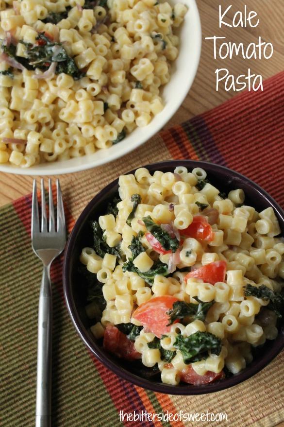 Kale Tomato Pasta