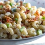 Bacon & Green Onion Pasta Salad