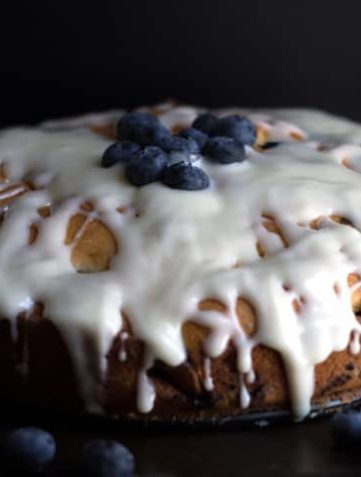 Best Blueberry Cake {EVER}