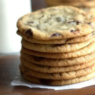 Making the Perfect Chocolate Chip Cookie