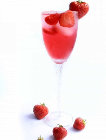 Erren's Strawberry Cocktail