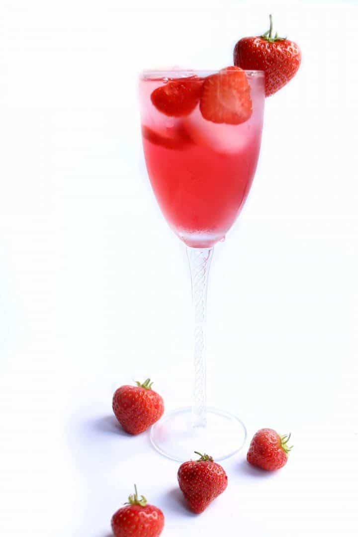 Erren's Strawberry Cocktail
