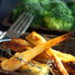 Honey & Maple Roasted Parsnips feature