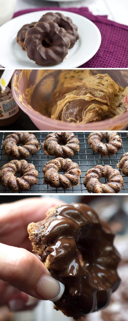 Chewy Chocolate Chip Hazelnut Cookies - Erren's Kitchen - These crave-worthy cookies are absolutely irresistible! Made with chocolate chips and Nutella, creating a match made in heaven!