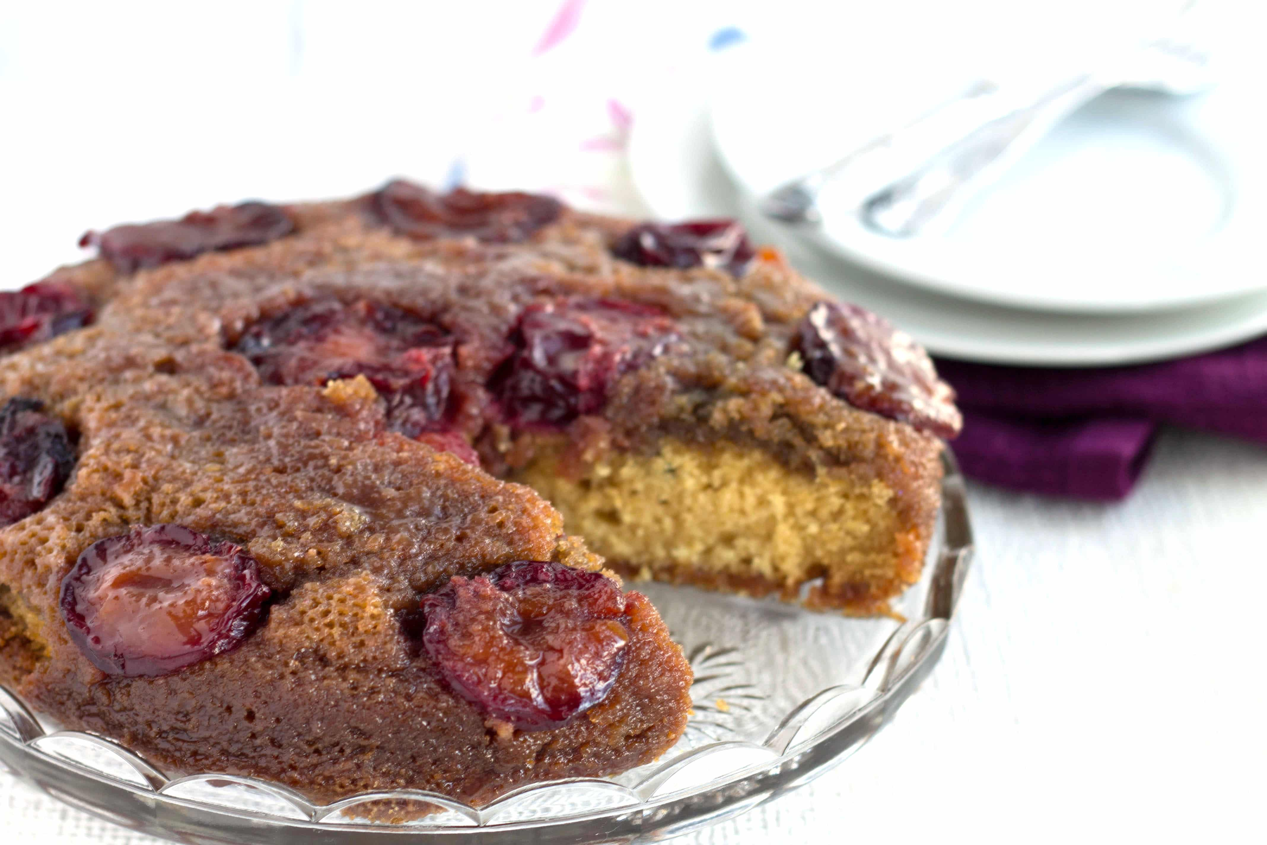This classic plum upside-down cake from Erren's Kitchen makes a lovely ...