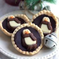 Dark Chocolate Ganache Tarts