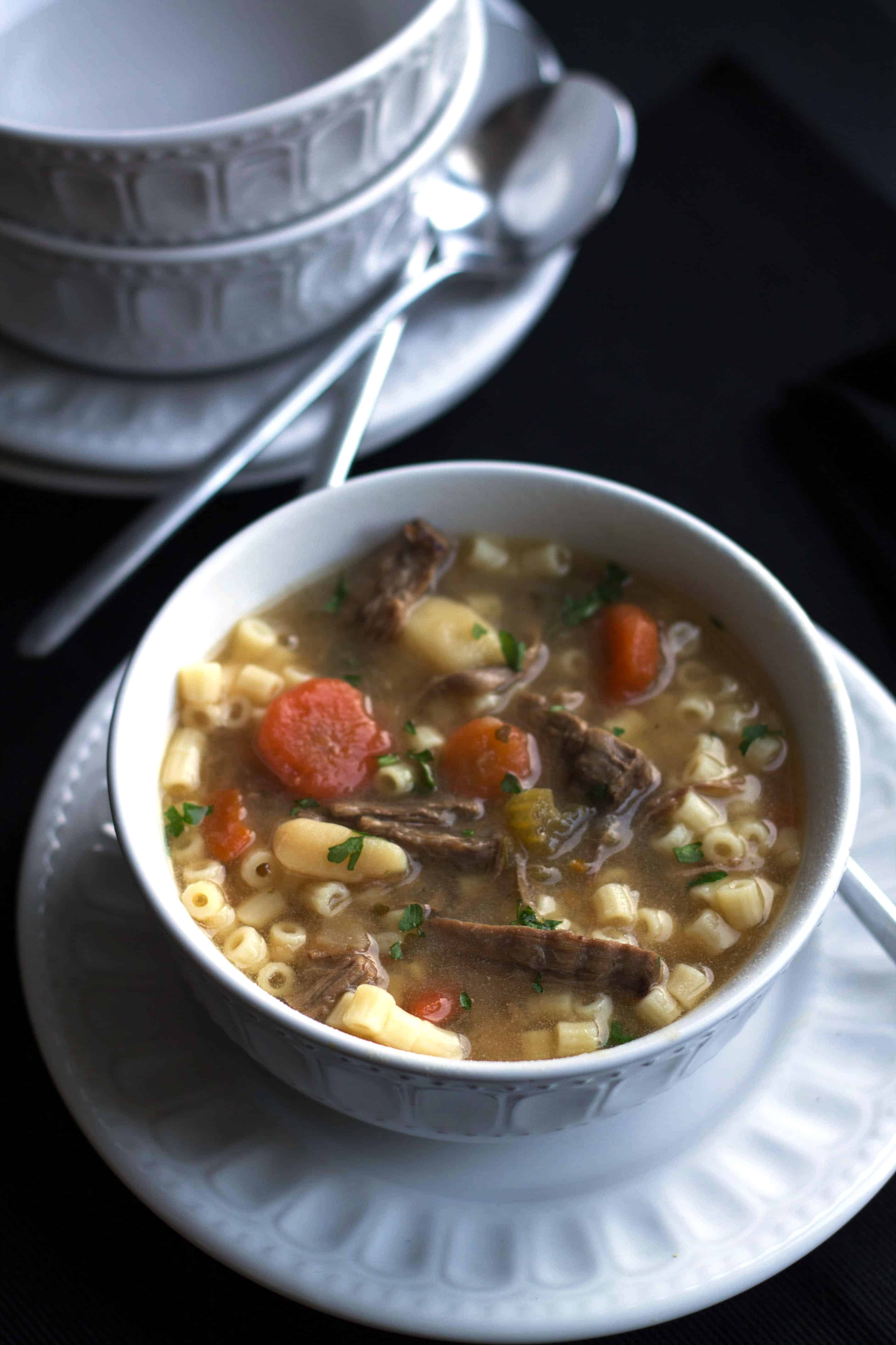Beef Brisket Soup - Erren's Ktchen