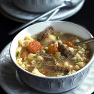 Beef Brisket Soup