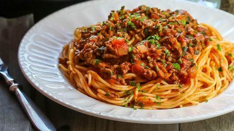 Quick Easy Spaghetti Bolognese Erren S Kitchen