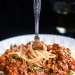 This fast-track recipe for Quick & Easy Spaghetti Bolognese meat sauce from Erren's Kitchen is bursting with flavor and cooks in just 30 minutes!