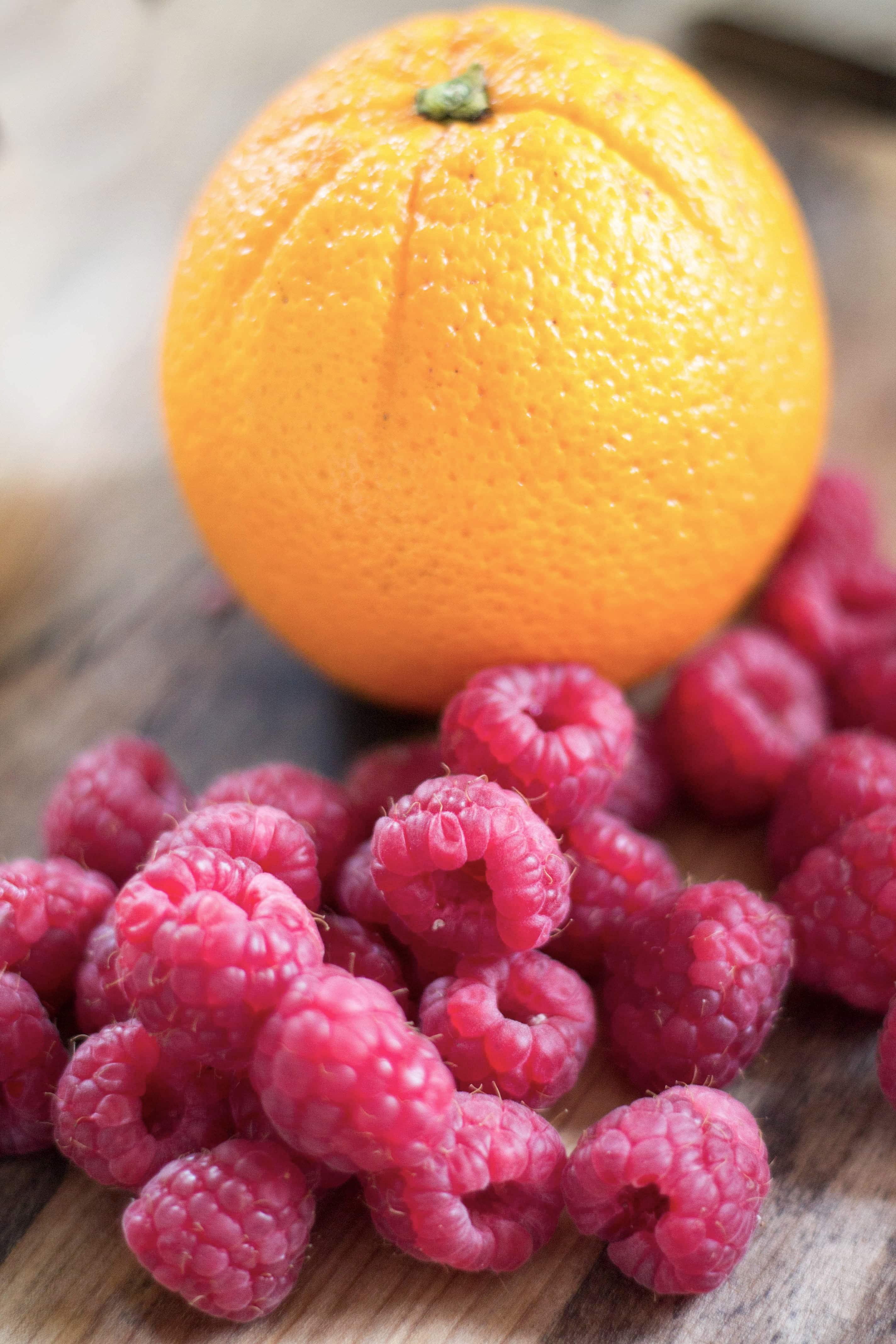 Raspberry & Orange
