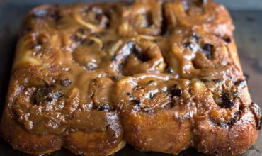 Quick Rise Chocolate & Salted Caramel Sticky Buns