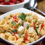 Chicken & Red Pesto Pasta Salad