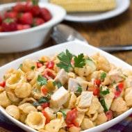 Chicken & Red Pesto Pasta Salad