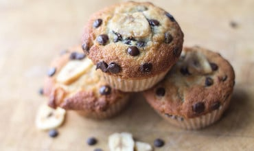 Chocolate Chip Banana Muffins feature