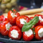 Cream Cheese & Ricotta Stuffed Peppadew Peppers