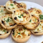 Red Onion & Feta Tarts
