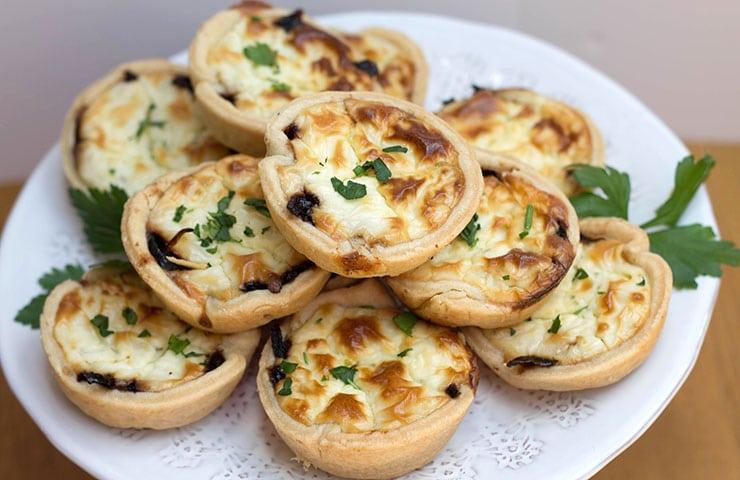 Red Onion & Feta Tarts - Erren's Kitchen