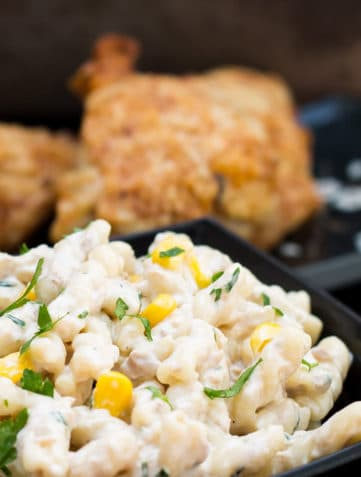 Quick and Easy Corn & Tuna Pasta Salad